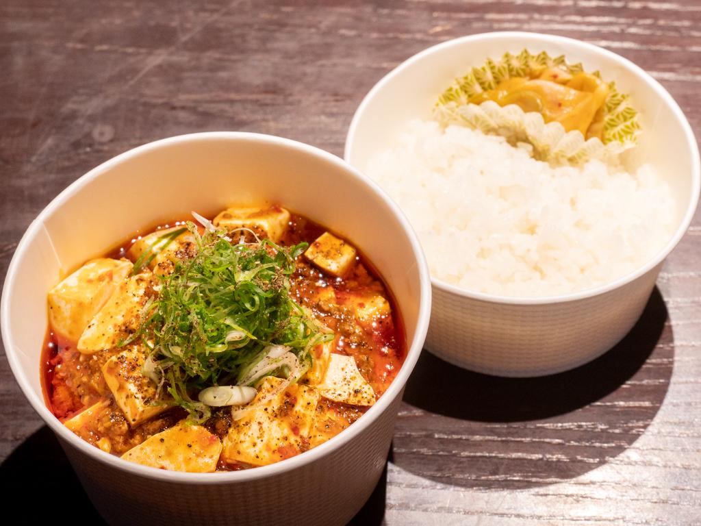 特製 晩餐 麻婆豆腐